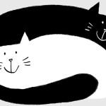 Libri per S. Valentino: Gatto nero, gatta bianca